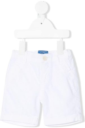 FAY KIDS Shorts - Elasticated-waist cotton shorts