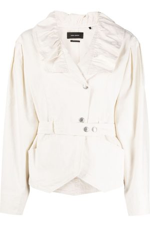 Isabel Marant Epaline long-sleeve jacket - Neutrals