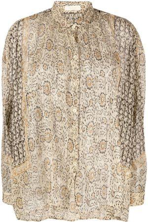 Mes Demoiselles Women Blouses - Floral-print blouse