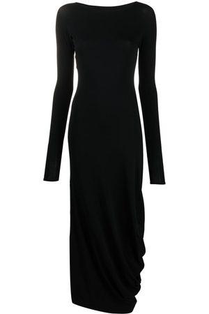 Maison Margiela Long-sleeve ankle-length dress