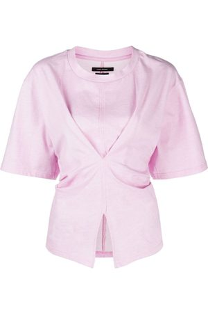 Isabel Marant Women T-shirts - Soyona asymmetric T-shirt