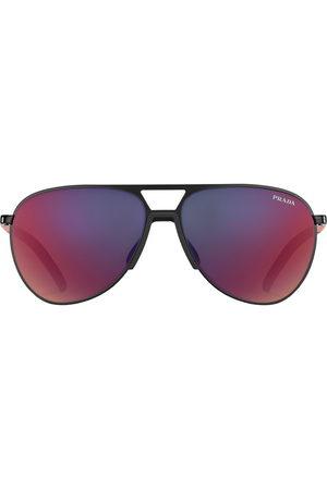Prada Linea Rossa aviator-frame sunglasses