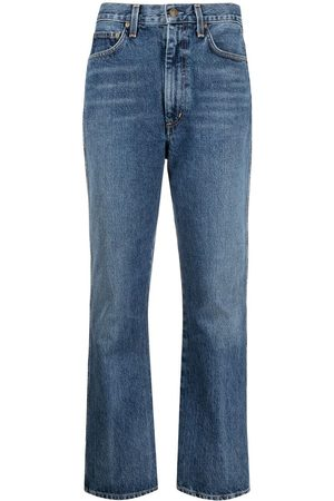 AGOLDE Kick high-waisted jeans
