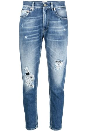 Dondup Ripped slim-cut jeans