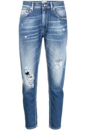 Dondup Women Slim - Ripped slim-cut jeans