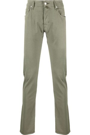 Jacob Cohen Logo-patch chino trousers