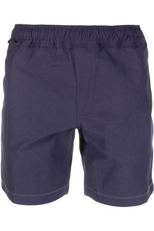 Ader Error Contrast-stitching track shorts