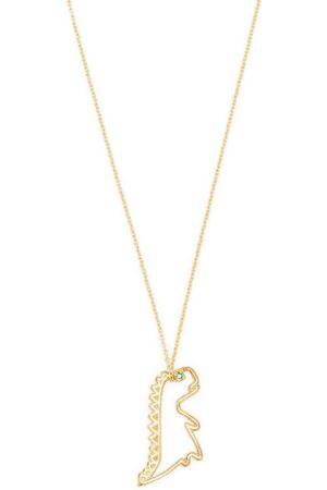 Aliita Women Necklaces - 9kt gold dinosaur necklace