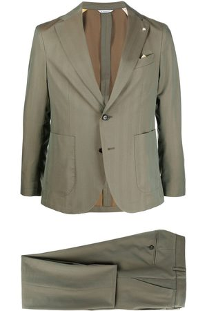Manuel Ritz Men Suits - Fitted single-breasted suit
