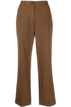 Aspesi Women Wide Leg Pants - Mid-rise wide-leg trousers