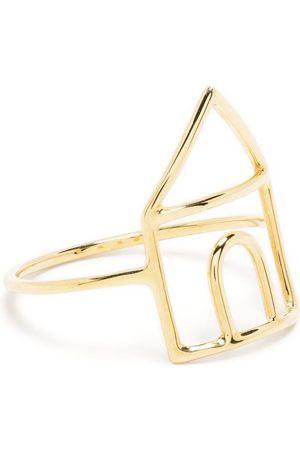 Aliita Women Rings - 9kt yellow house ring