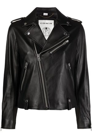 Coach Zipped biker jacket