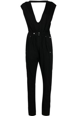 Rick Owens Deep V-neck jumpsuit