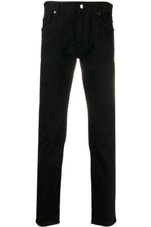 Fendi Men Slim - Logo patch FF slim-fit jeans