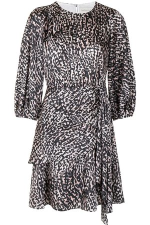 Sachin & Babi Sylvie animal-print dress - Neutrals
