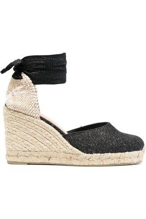 Castaner Almond-toe wedge espadrilles