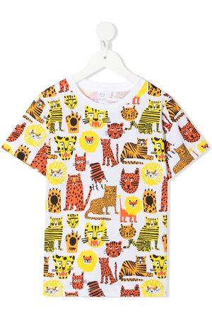 Stella McCartney Wild Cats-print T-shirt