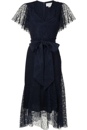 Sachin & Babi Estella lace-panelled dress