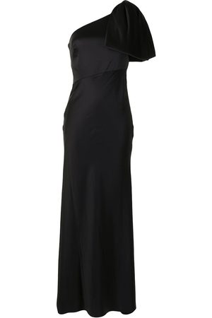 Sachin & Babi Aubrey one-shoulder gown