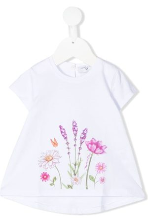 MONNALISA Floral-print T-shirt