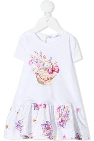 MONNALISA Floral-print jersey dress