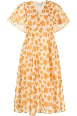 Sachin & Babi Women Dresses - Luciana polka dot ikat dress