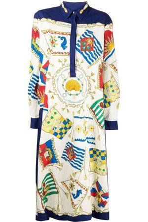 Etro Women Casual Dresses - Scarf-print shirt dress