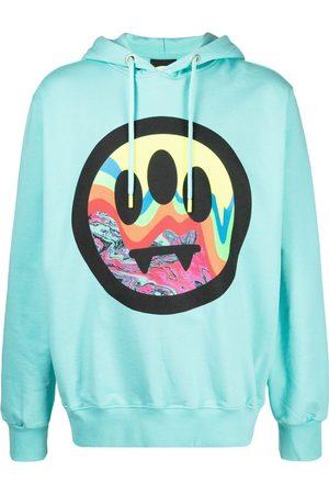 BARROW Logo-print cotton hoodie