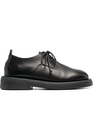 MARSÈLL Lace-up leather oxfords