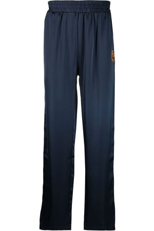 BEL-AIR ATHLETICS Logo embroidered track trousers