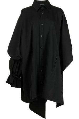 YOHJI YAMAMOTO Oversized asymmetric wool shirt