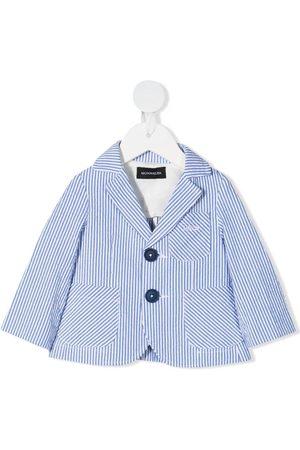 MONNALISA Striped single-breasted blazer