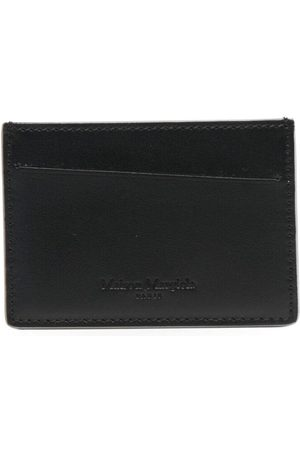 Maison Margiela Metallic-finish cardholder