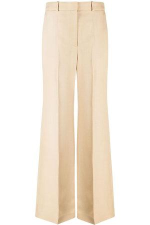 Joseph Morissey wide-leg trousers - Neutrals