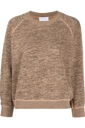 JOHN ELLIOTT Women Sweatshirts - Co Mix mélange-effect sweatshirt