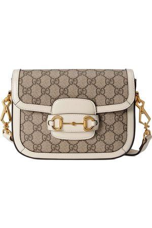 Gucci Women Shoulder Bags - 1955 Horsebit mini bag - Neutrals