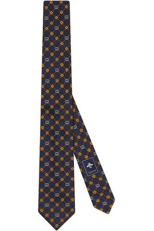 Gucci Interlocking G silk tie