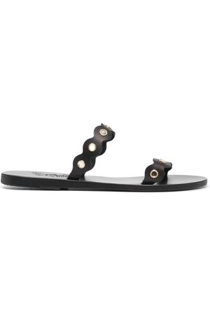 Ancient Greek Sandals Women Sandals - Studded leather sandals