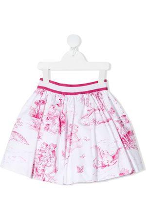 MONNALISA Disney-print skirt