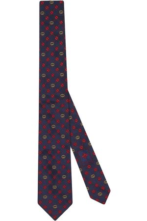 Gucci Interlocking C silk tie