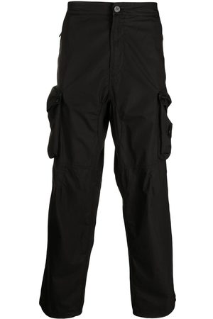Stone Island Men Cargo Pants - Logo-patch cargo trousers