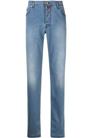 Kiton Straight-leg denim jeans