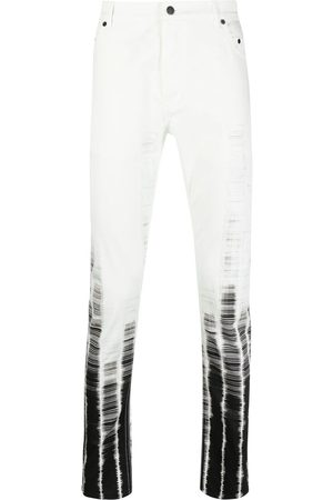 Ann Demeulemeester Gradient graphic-print skinny jeans
