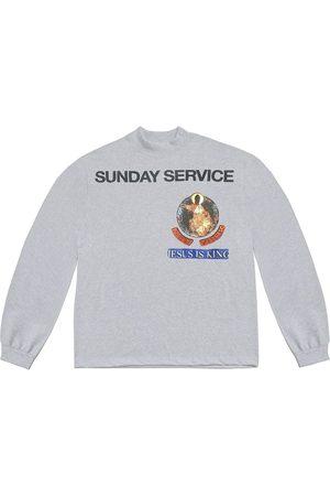Kanye West Sunday Service New York long-sleeve T-shirt - Grey