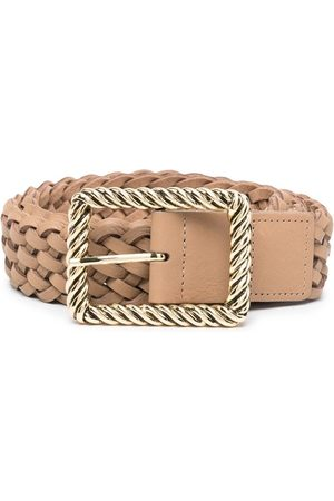 B-Low The Belt Woven leather belt - Neutrals