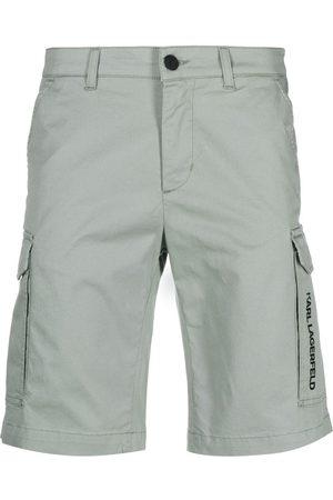 Karl Lagerfeld Mid-rise bermuda shorts