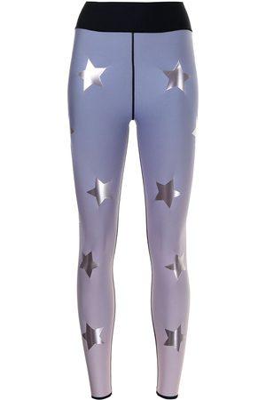 ULTRACOR Women Leggings - Star-print faded-effect leggings