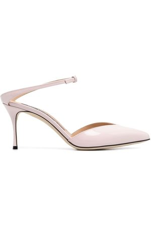 Sergio Rossi Godiva 90m patent-leather pumps