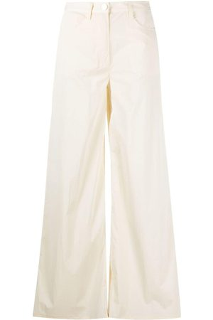 REMAIN High-rise wide-leg jeans - Neutrals