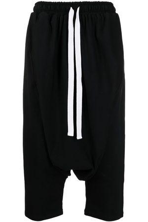 Alchemy Men Pants - Drop-crotch cropped trousers